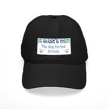 dog farted Baseball Hat