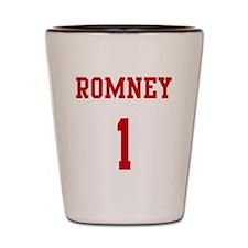 Romney-Jersey-Back Shot Glass