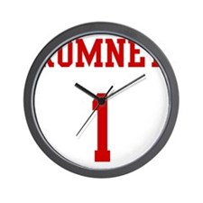 Romney-Jersey-Back Wall Clock