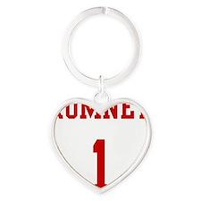 Romney-Jersey-Back Heart Keychain