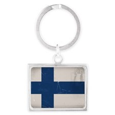 finlandflag Landscape Keychain