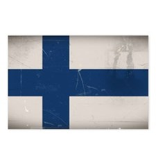finlandflag Postcards (Package of 8)