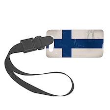 finlandflag Luggage Tag