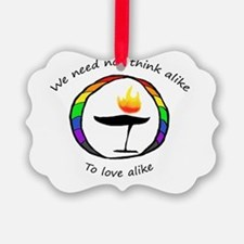 Rainbow Chalice Ornament