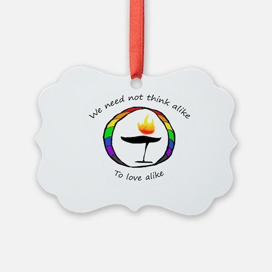 Rainbow Chalice Ornament