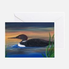 Loon Lake Greeting Card