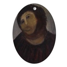 Ecce Homo Oval Ornament