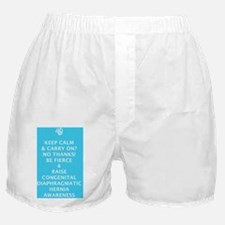 Keep Calm - No - Be Fierce  Raise CDH Boxer Shorts