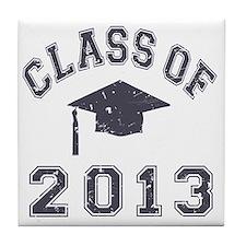 Class Of 2013 Graduation Tile Coaster