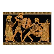 Achilles Slaying Hector Postcards (Package of 8)