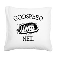 narmstrong-middle Square Canvas Pillow