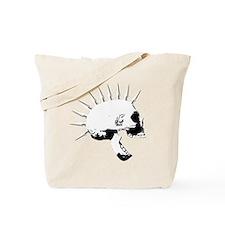 punks not dead skull Tote Bag