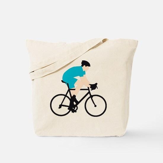 evolution bicycle racer Tote Bag