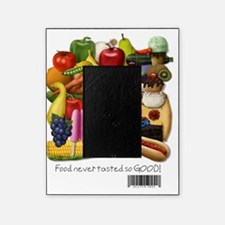 Gluten Free Foodpile (for light back Picture Frame