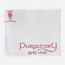 Purgatory Golf Club logo Throw Blanket