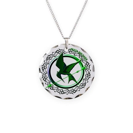 Team Peeta Mellark from The Necklace Circle Charm