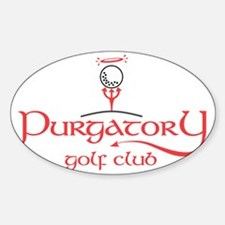 Purgatory Golf Club award winning l Decal
