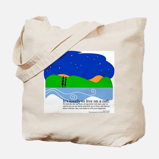 Huck Finn by Nancy Vala Tote Bag