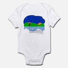Huck Finn by Nancy Vala Infant Bodysuit