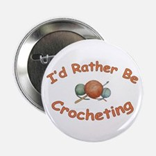 """Crochet 2.25"""" Button (10 pack)"""