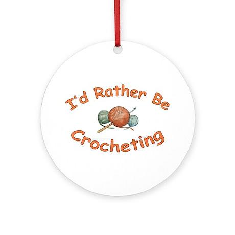 Crochet Ornament (Round)