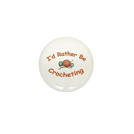 Crochet Mini Button (10 pack)