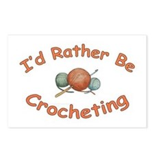 Crochet Postcards (Package of 8)
