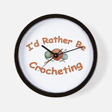 Crochet Wall Clock