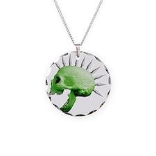 spike skull Necklace