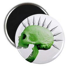 spike skull Magnet