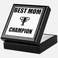 best mom champ Keepsake Box