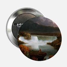 """Thomas Cole Niagara Falls 2.25"""" Button"""