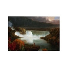 Thomas Cole Niagara Falls Rectangle Magnet