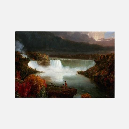 Thomas Cole Niagara Falls Rectangle Magnet