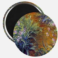 Claude Monet Irises Magnet
