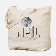 A TRIBUTE DESIGN TO NEIL ARMSTRONG Tote Bag