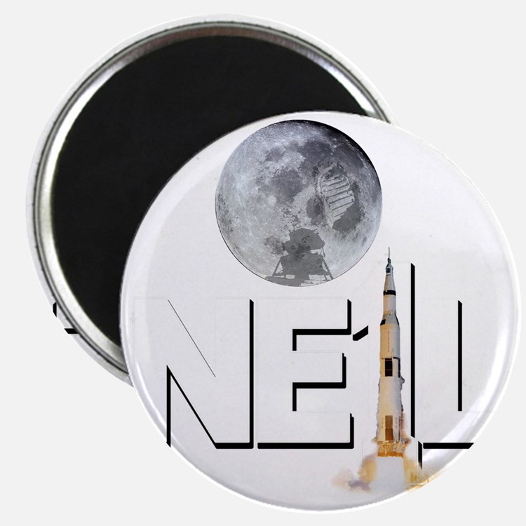 A TRIBUTE DESIGN TO NEIL ARMSTRONG Magnet