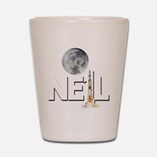 A TRIBUTE DESIGN TO NEIL ARMSTRONG Shot Glass