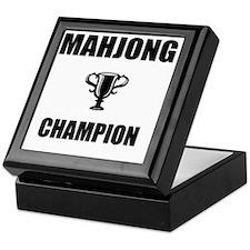 mahjong champ Keepsake Box