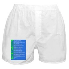To My Son as you go to college Boxer Shorts