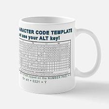 ASCII Codes Mug