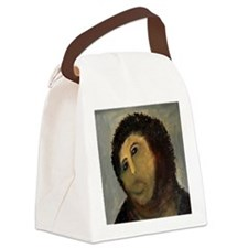 Jesus Fresco Head Canvas Lunch Bag