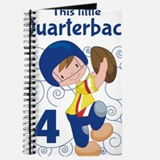 This Little Quarterback is 4 Journal