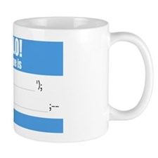 Writable SQLi Name Tag Mug