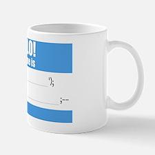 Writable SQLi Name Tag Mug