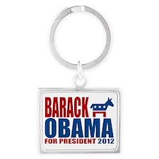 Obama Landscape Keychain