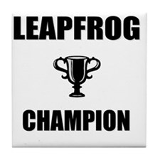 leapfrog champ Tile Coaster