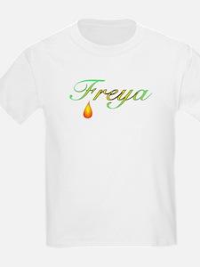 Freya, Goddess of Love Kids T-Shirt