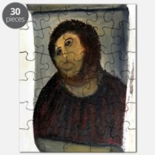 Jesus Fresco large Puzzle