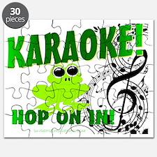 Karaoke!  Hop On In! Puzzle